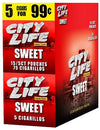 City Life Cigarillos Sweet 15 Packs of 5