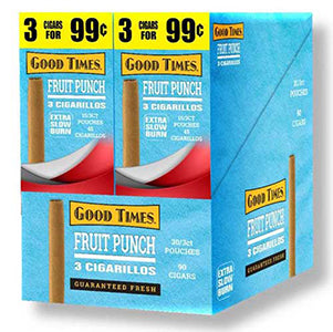 Good Times Cigarillos Fruit Punch 30ct