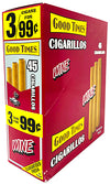 Good Times Cigarillos Wine 15-Count Box