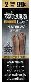 Good Times Sweet Woods Leaf Platinum 30ct