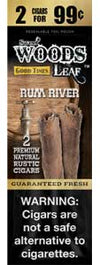 Good Times Sweet Woods Leaf Rum River 30ct
