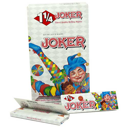 Joker 1 1 4 Rolling Papers 24ct Box