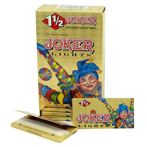 Joker Lights 1 1 2 Rolling Papers 24ct Box