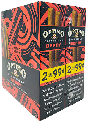Optimo Cigarillos Berry 30ct