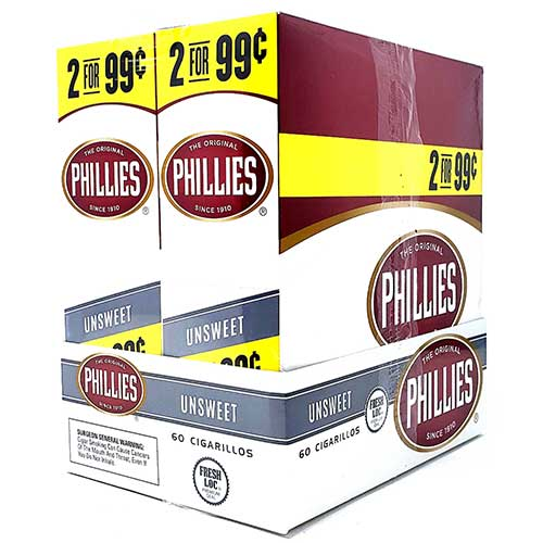 Phillies Cigarillos Unsweet 30ct