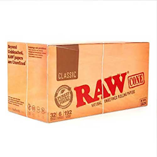 RAW Classic Cones 1 1 4 32ct Box