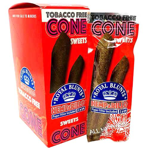 Royal Blunts Hemparillo Cones