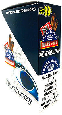 Royal Blunts XXL Cigar Wraps Blueberry 25 2 Packs