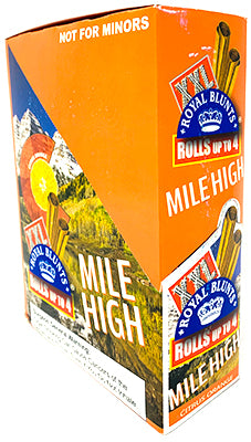 Royal Blunts XXL Cigar Wraps Mile High 25 2 Packs