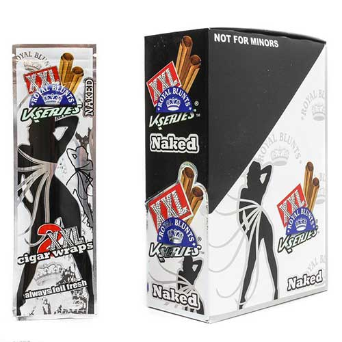 Royal Blunts XXL Cigar Wraps Naked 25 2 Packs