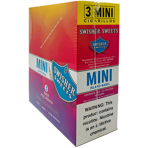 Swisher Sweets Mini Cigarillos Island Bash 15ct