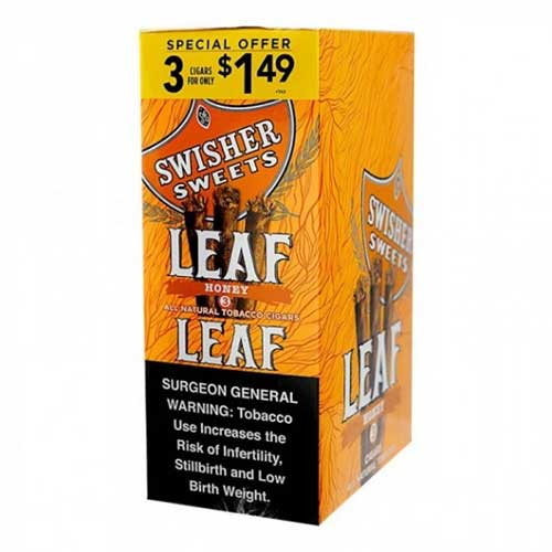 Swisher Sweets Leaf Honey 10ct