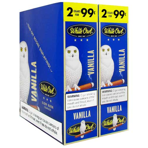 White Owl Cigarillos Vanilla 30ct
