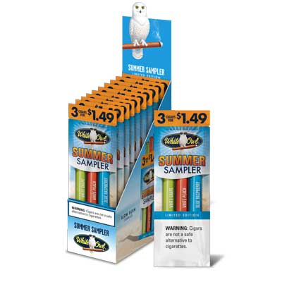 White Owl Cigarillos Summer Sampler 15ct