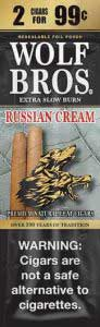 Wolf Bros Russian Cream Cigarillos