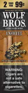 Wolf Bros UnSweet Cigarillos