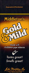 Gold and Mild Cigars 25 Count Box