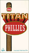 Phillies Titan Cigars 10 Packs of 5