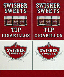 Swisher Sweets Tip Cigarillos 10 5pks