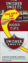 Swisher Sweets Wood Tip 10 Packs of 5