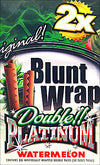 Double Platinum Blunt Wraps Watermelon 25 Packs of 2