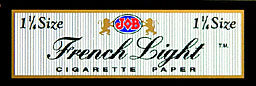 Job French White 1 1 4 Rolling Papers 24ct Box
