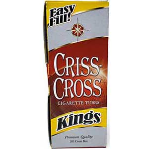 Criss Cross Cigarette Tubes
