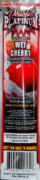 Double Platinum Cigarillos Wet Cherry 15 2pks