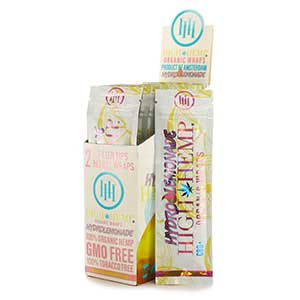High Hemp Organic Hydro Lemonade Wraps 25ct
