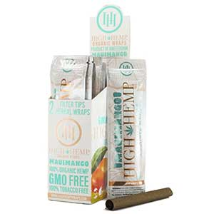 High Hemp Organic Maui Mango Wraps 25ct