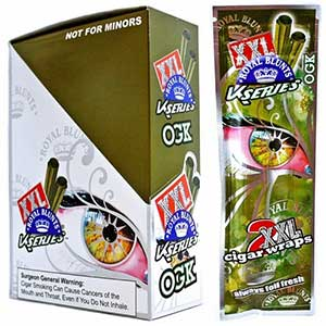 Royal Blunts XXL Cigar Wraps OGK 25 2 Packs