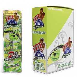 Royal Blunts XXL Cigar Wraps Sour Apple 25 2 Packs