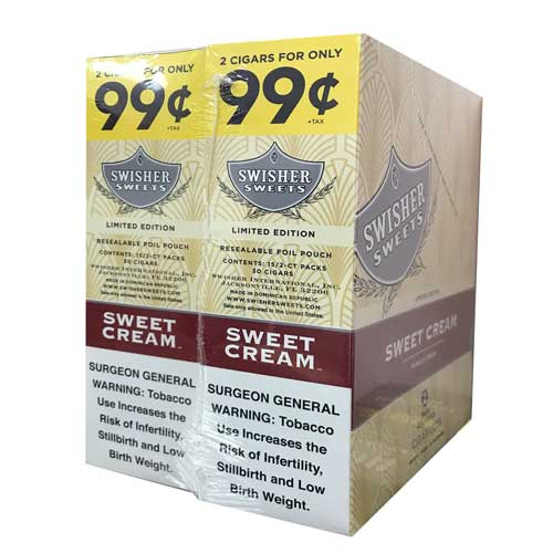 Swisher Sweets Cigarillos Sweet Cream 30ct