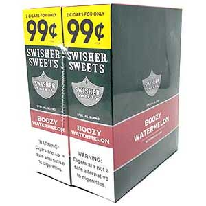 Swisher Sweets Cigarillos Boozy Watermelon 30ct