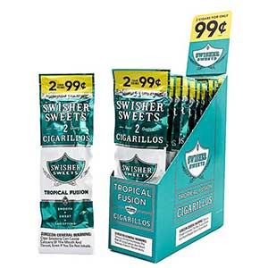 Swisher Sweets Cigarillos Tropical Fusion 30ct