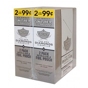 Swisher Sweets Cigarillos Diamonds 30ct