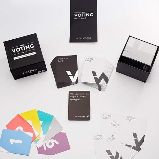The Voting Card Game: The party game about your friends