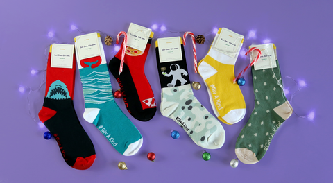 cute funky fun colorful socks Givkind