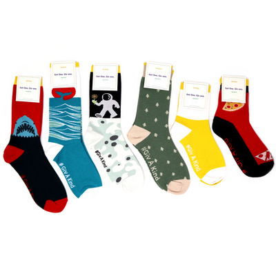 GivKind socks all together