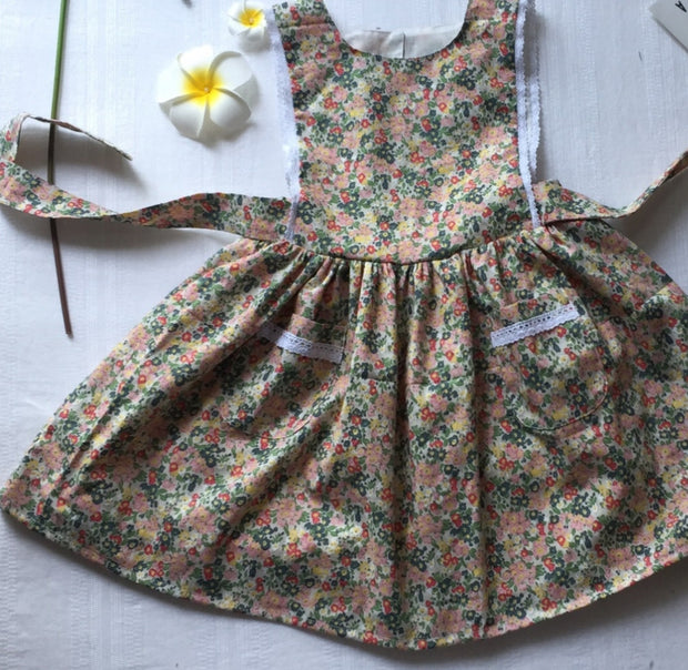 Martina Pinafore - Luna Bella Designs Melbourne | Kids Clothing