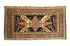 Antique Caucasian Seychour Small Rug 2'4 x 4'5