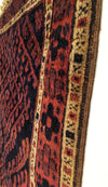 Antique Persian Kurdish Small Rug 2'5 x 3'3