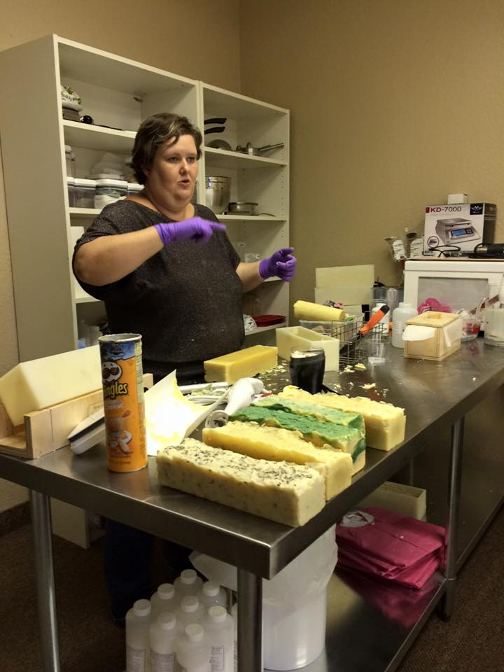 Our Soap Making Classes Offer Informative Fun!