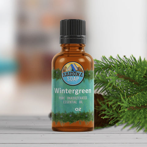 Wintergreen-Essential-Oil