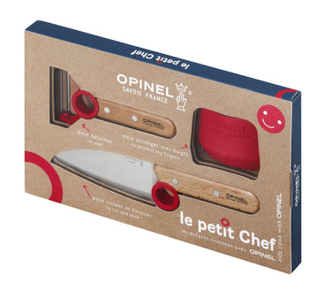 Opinel Le Petit Chef Kids' Cooking Set, 3 pieces