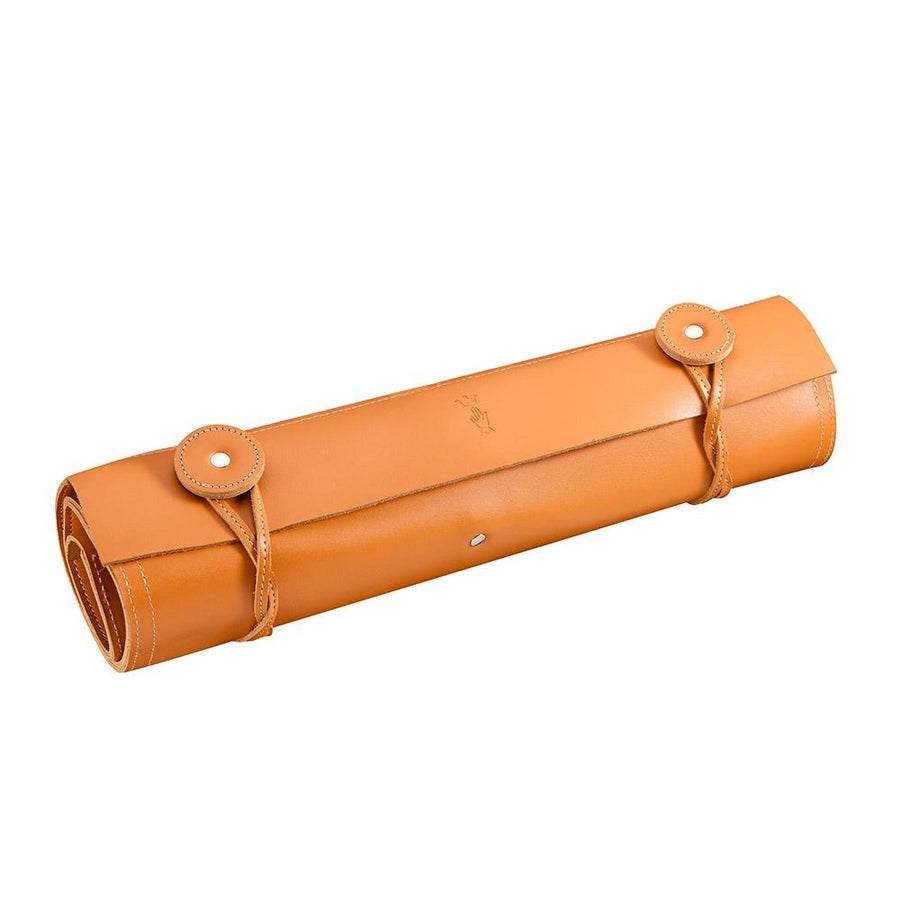 Opinel Leather Knife Carrier Roll, 10