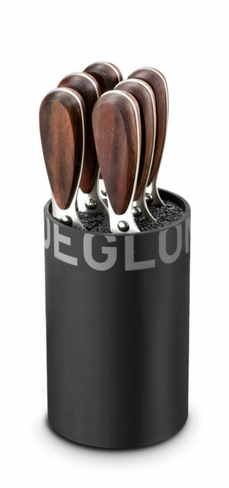 Déglon Génération Y Steak Knife Block, 7 pieces