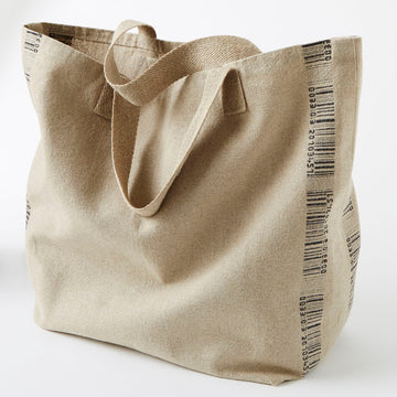 Charvet Éditions Bar Code Shopping Tote, Set of 2