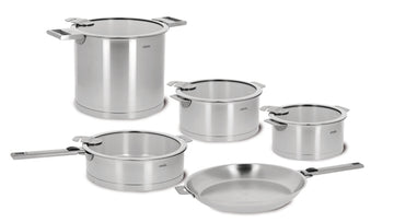 Cristel Strate Cookware Collection, Set of 13