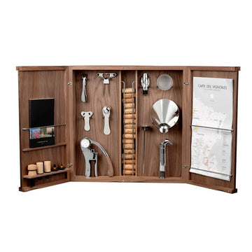 L'Atelier du Vin Wine Lover's Curiosity Cabinet, 18 pieces